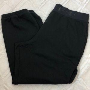 Victoria Secret Sport sweatpants open sides XL